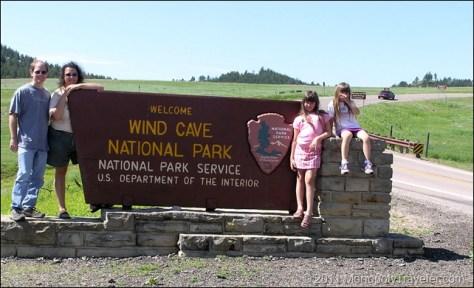 Wind Cave National Park Entrance