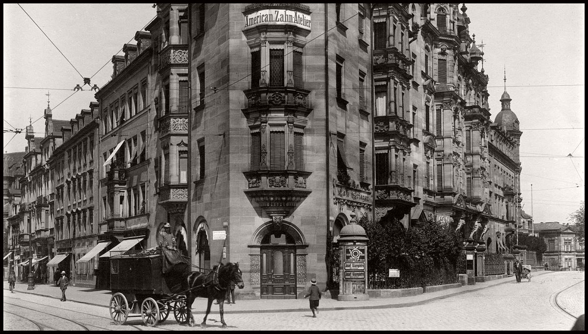 Salon Nuremberg Vintage Everyday Life And Street Scenes Of Nuremberg 1910s