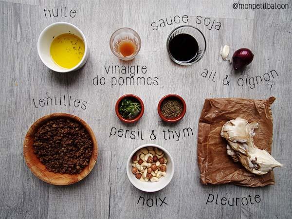 calendrier de l'avent 2015 par mon petit balcon jour 17 - un foie gras végétarien, sans foie ni gras