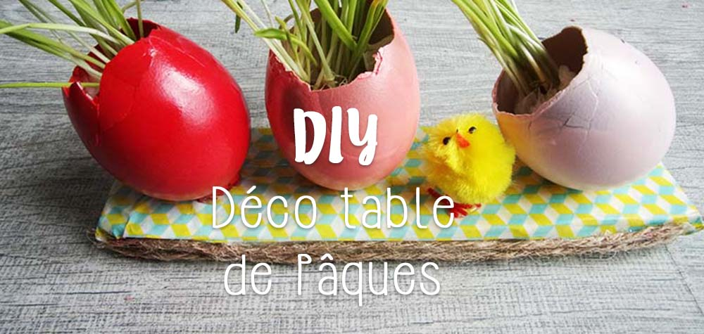 DIY déco table de paques