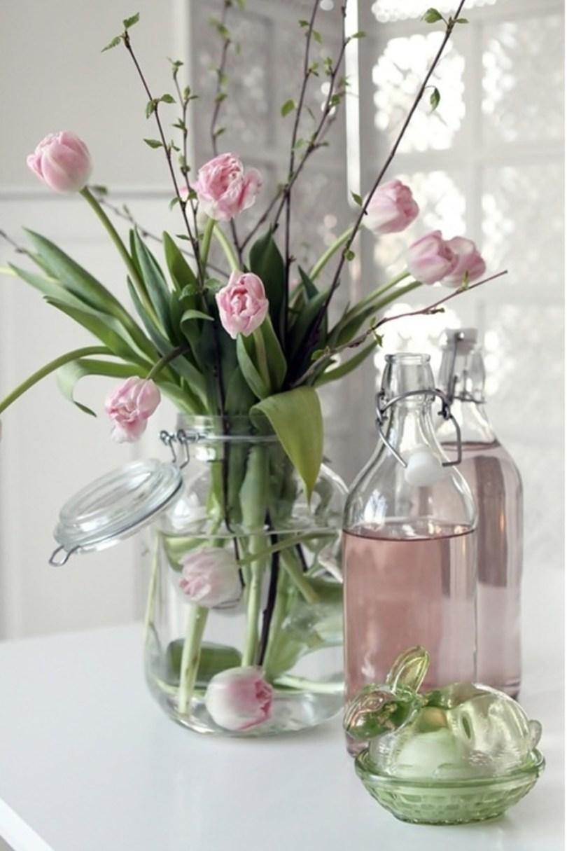 bouquet tulipe roses