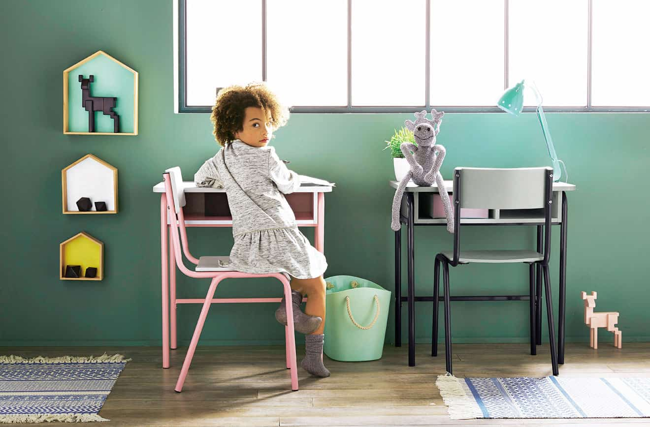 Deco Bureau Enfant   Bureau Junior Violet Pryce Les Bureaux Enfants Les