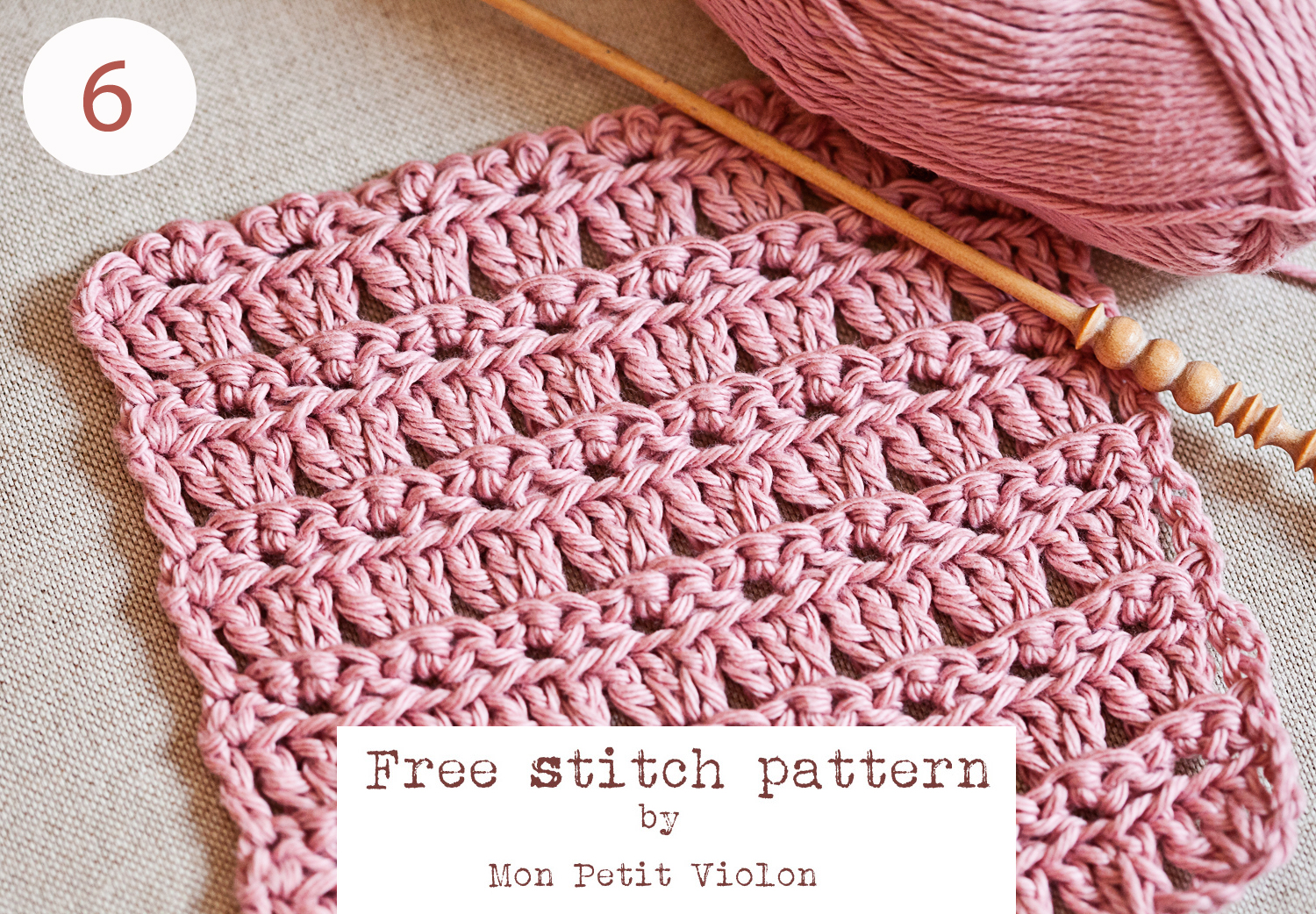 New Free Stitch pattern to try this weekend!
