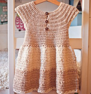 Darling Dress, crochet pattern by Mon Petit Violon