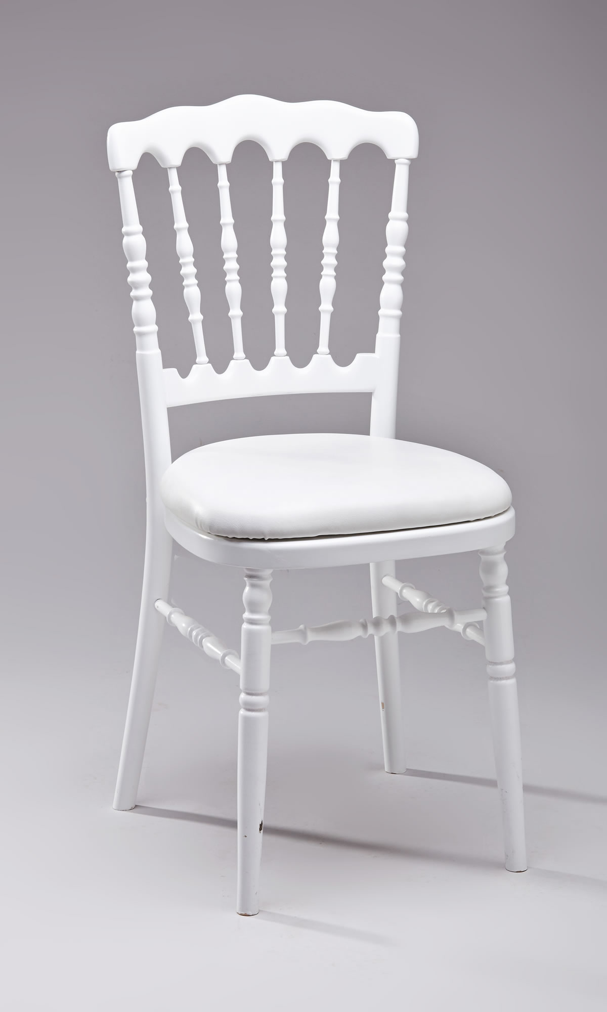 Dimension Tabouret De Bar Location Chaise Napoléon Couleur Blanche Empilable (devis