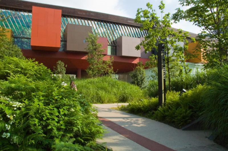 Le jardin du musée du quai Branly