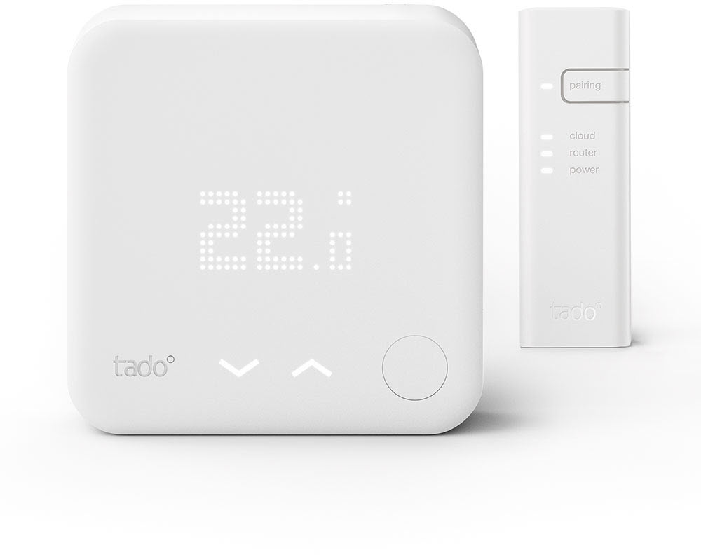 Smart Home Wandthermostat Tado Smart Thermostat Starter Kit V3 Inkl 1 Bridge