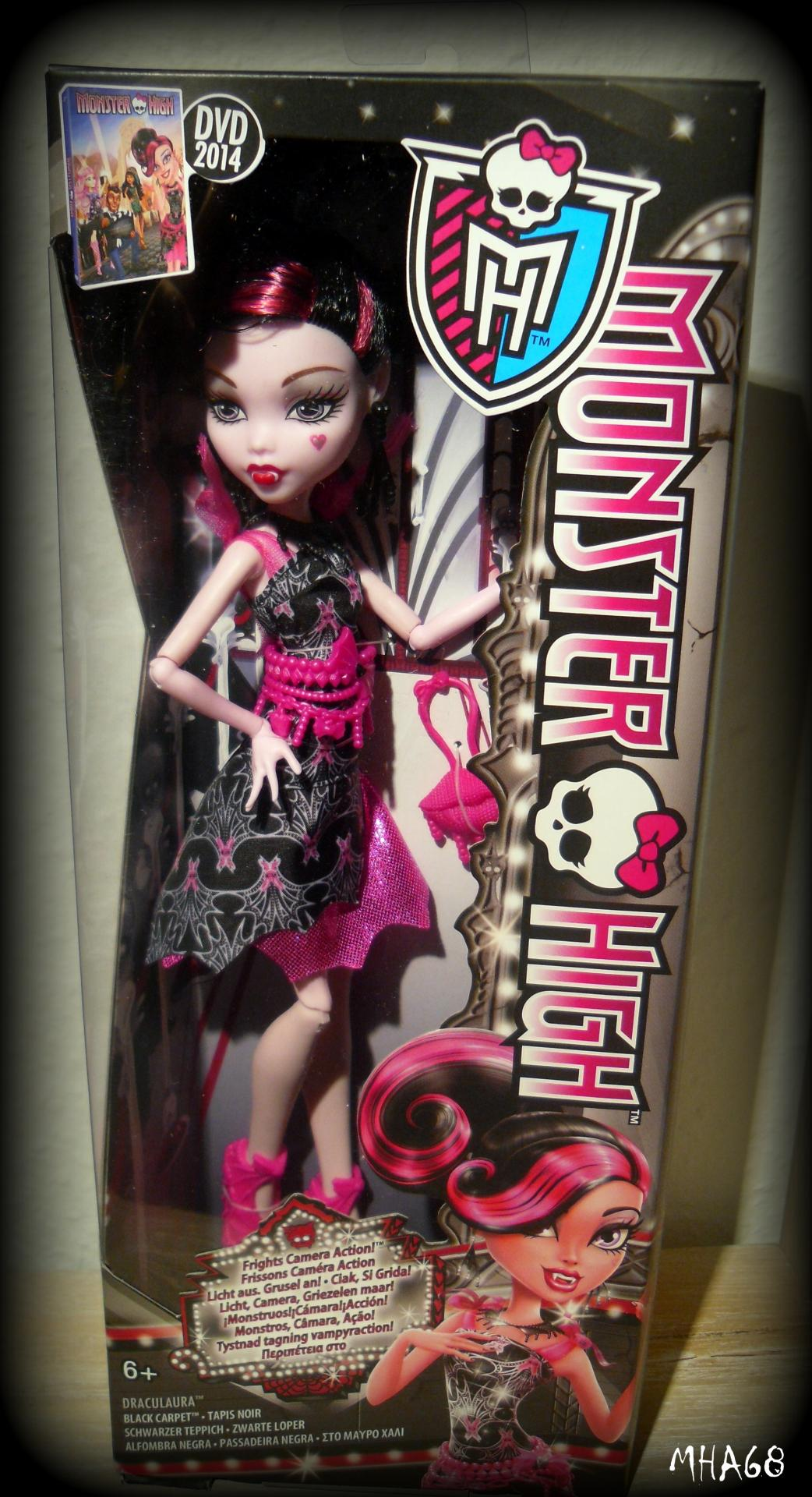 Teppich Monster High Real Live Negroid Monster High Girl