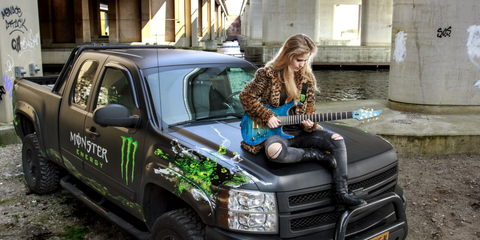 90 Party Zwolle Monster Energy Welcomes Merel Bechtold!