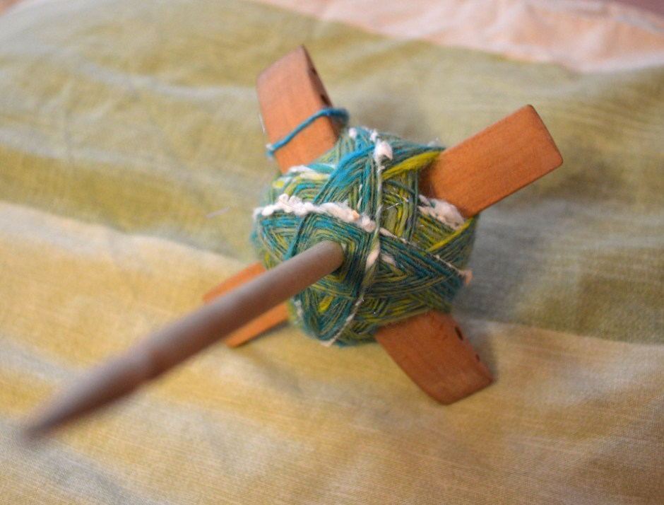 First-mini-batt-spun