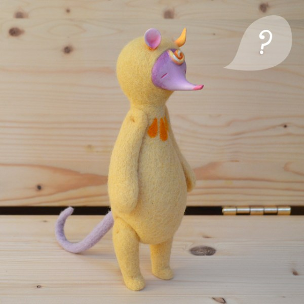 Monster Pie Toys - Léopoldine the Shrew