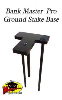 Ground Stake Base  Monster Rod Holders