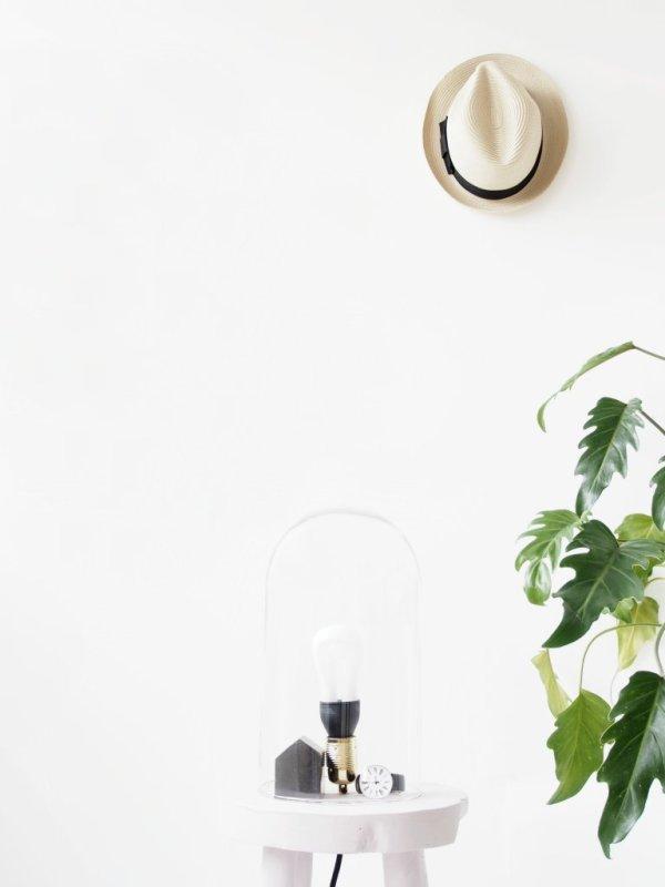 DIY-Dome-Stool-Lamp