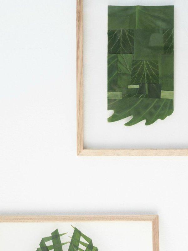 DIY-Leaf-Patchwork-Art