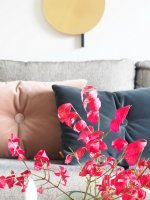 DIY Sofa Styling with Style