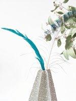 DIY Japanese Inspired Origami Vases