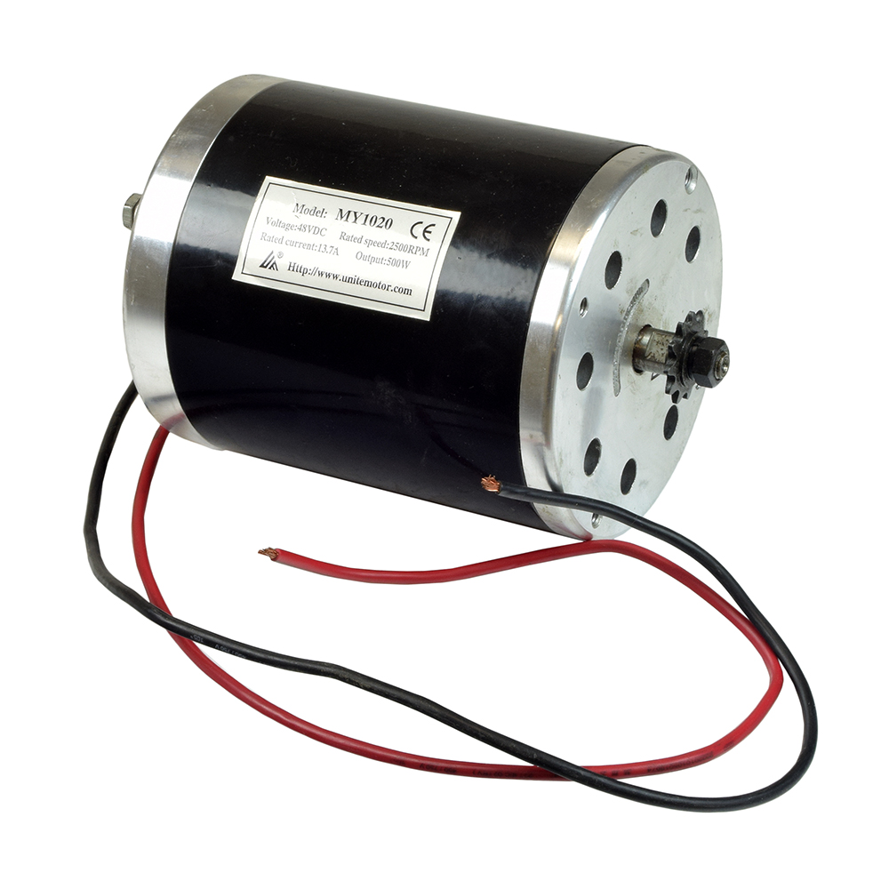 500 Watt 48 Volt 500 Watt My1020 Electric Motor With 11 Tooth 8 Mm 05t