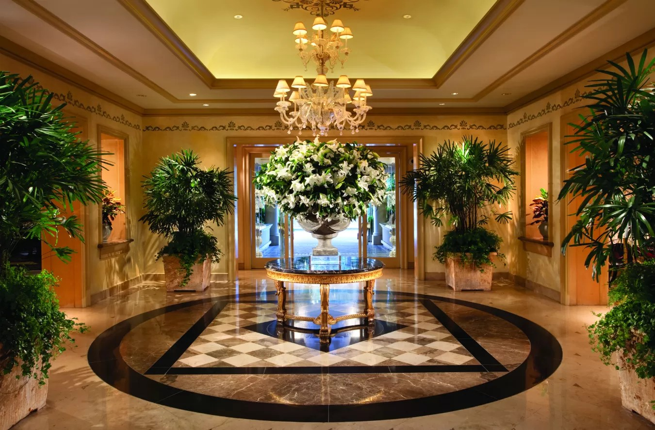 Lobby Decoration Ideas Four Seasons Los Angeles And Beverly Wilshire Montecristo