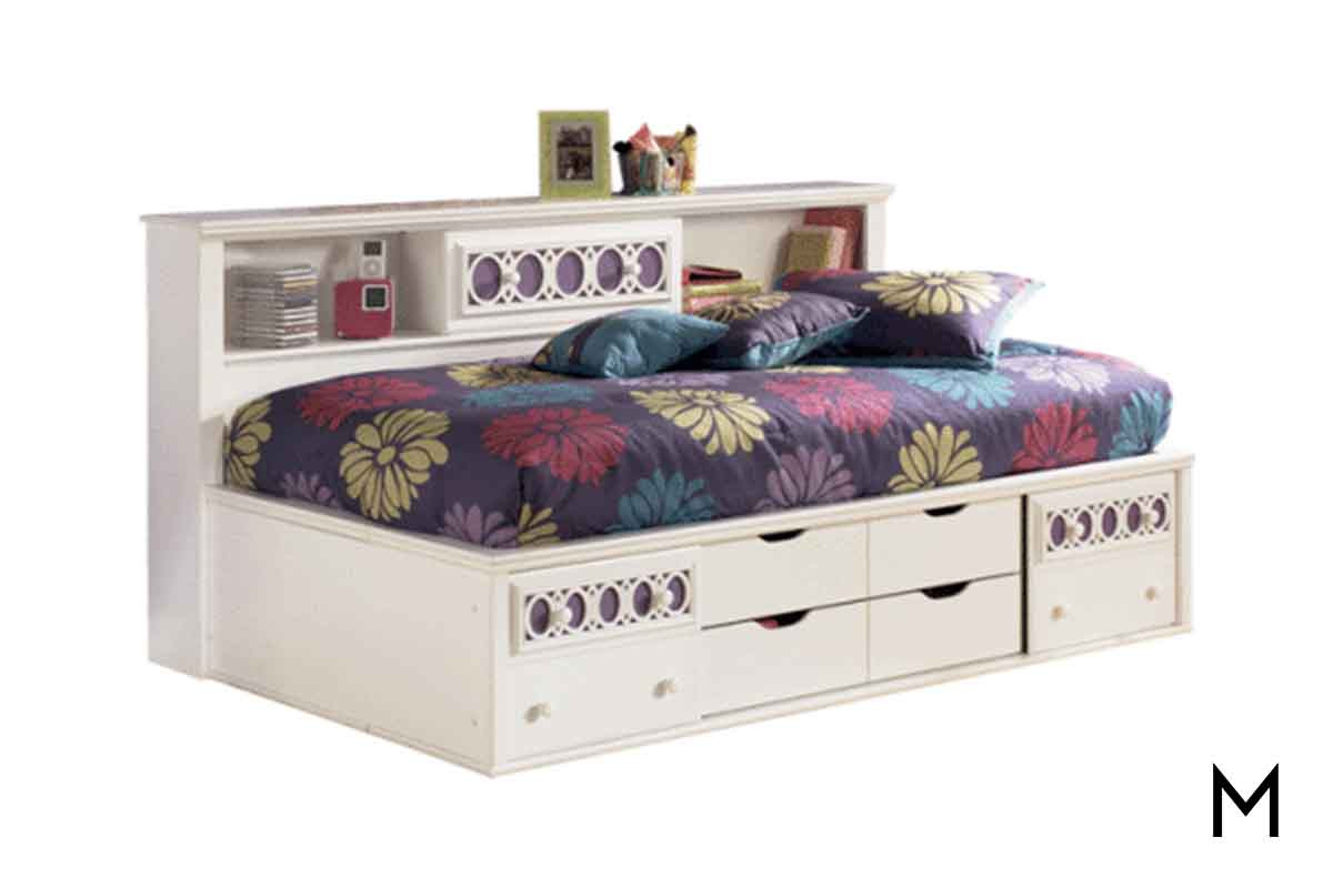 Bookcase Bed Zayley Full Bookcase Bed