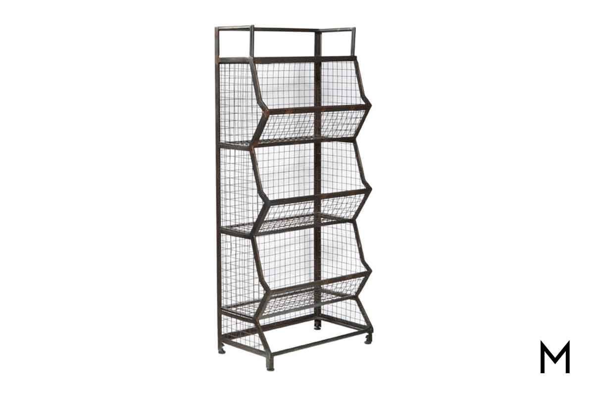 Etagere Metal Three Tier Metal Bin Etagere With Stationary Bins