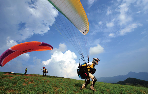 Paragliding Wallpaper Hd 월간조선