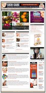 Skin Care Niche Website