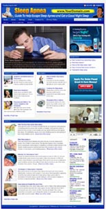 Sleep Apnea Niche Website