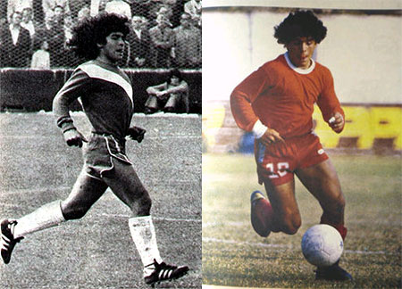Diego Maradona started his career with Argentinos Juniors.