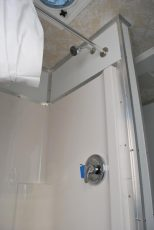Shower Trailer Interior