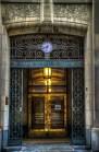 Entrance to Aldred building