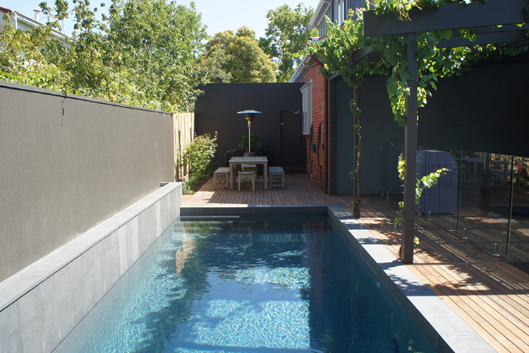 Houzz Bathroom Ideas Minimalist Modern Pool Ideas - Montreal Outdoor Living