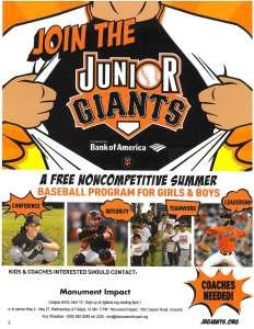 Junior Giants 2016 flyer- English