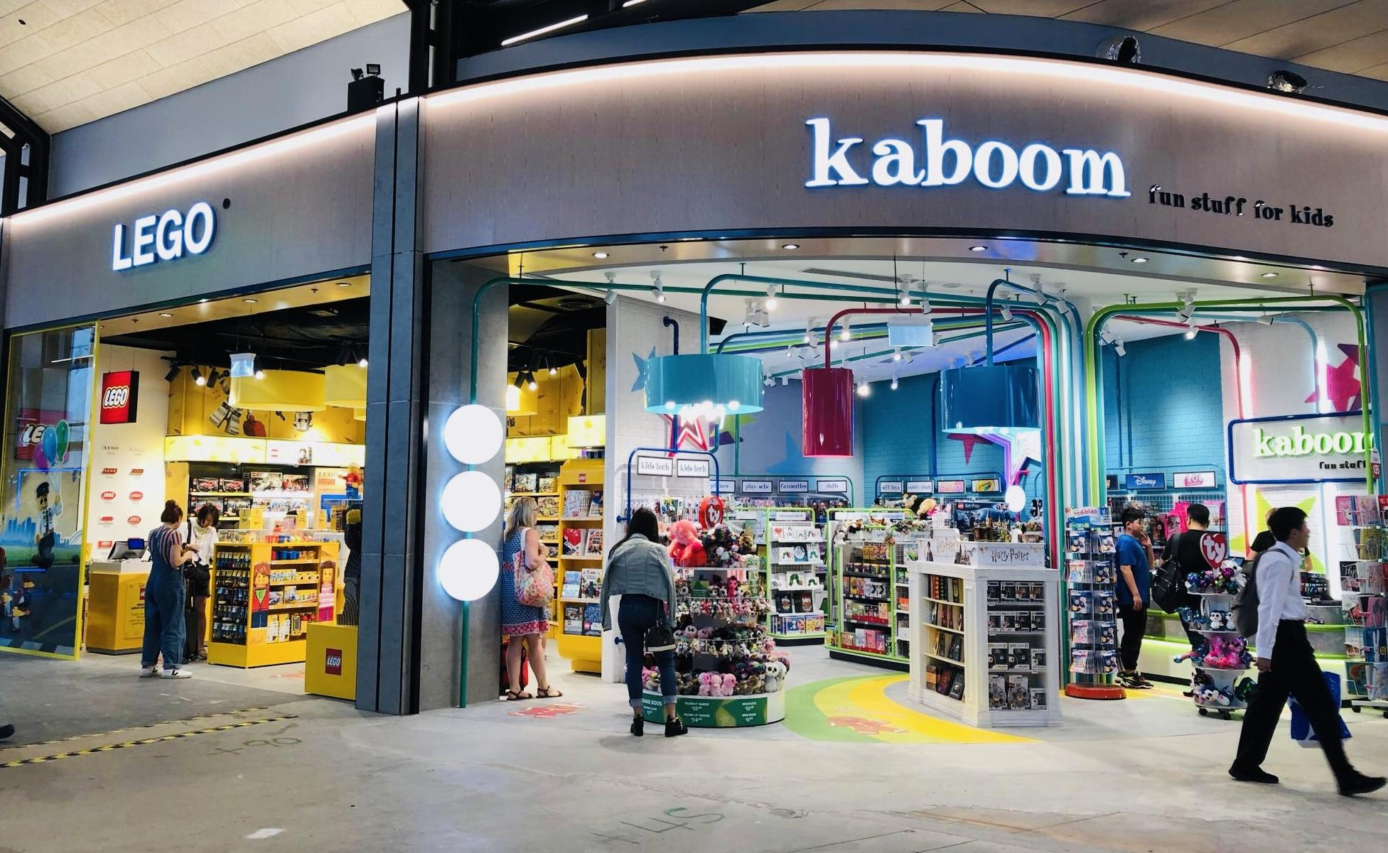 Sydney Airport Shops Lagardère Travel Retail Pacific Opens Lego Store At Sydney Airport