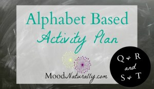 Alphabet Based Activity Plan – QRST