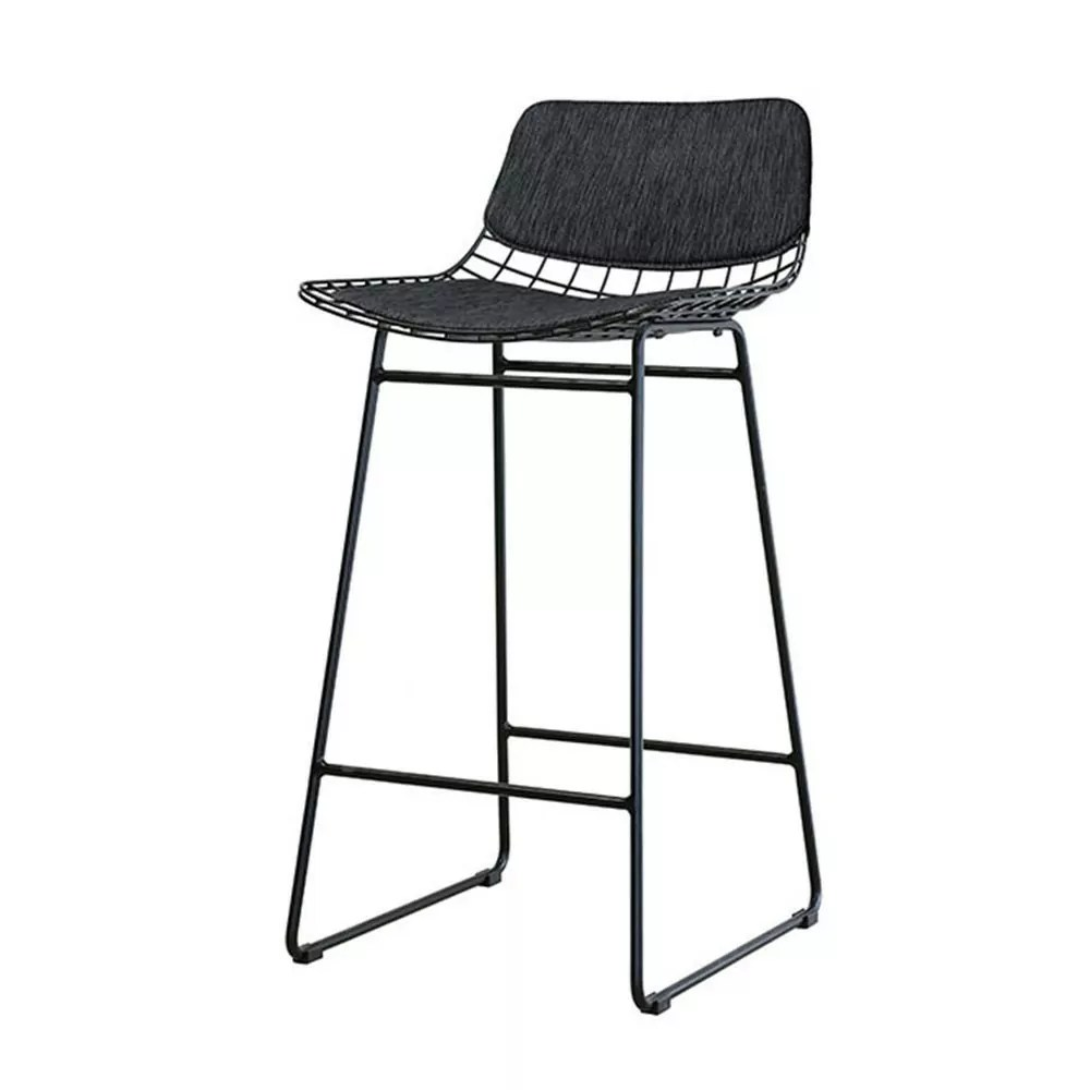 Kit De Confort Noir Pour Tabouret De Bar Wire Hk Living