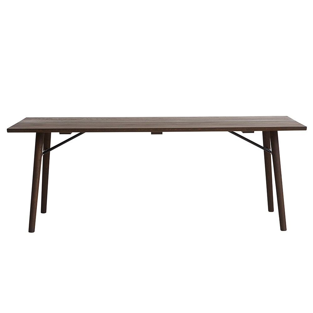 Table étroite Table Alley 240 Cm Chêne Fumé