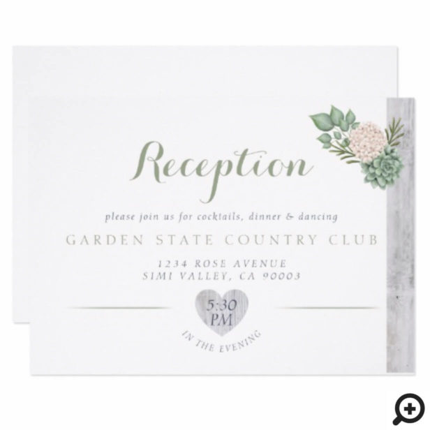 Wedding Reception Cards Invitations By Moodthology Papery