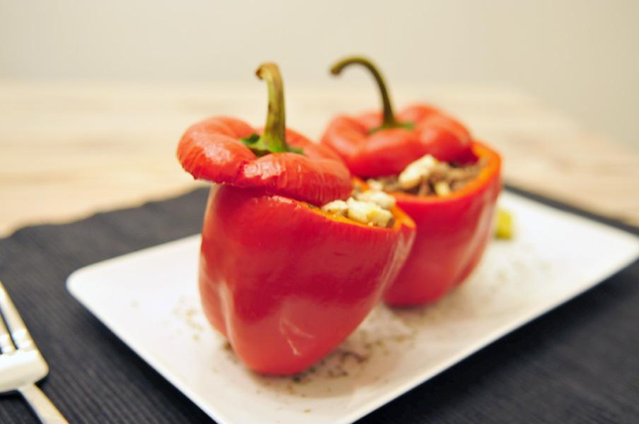 Gevulde-paprika