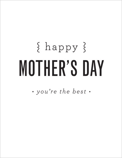 Make it! Blooming Mother\u0027s Day Card Moomah the Magazine - mothers day card template