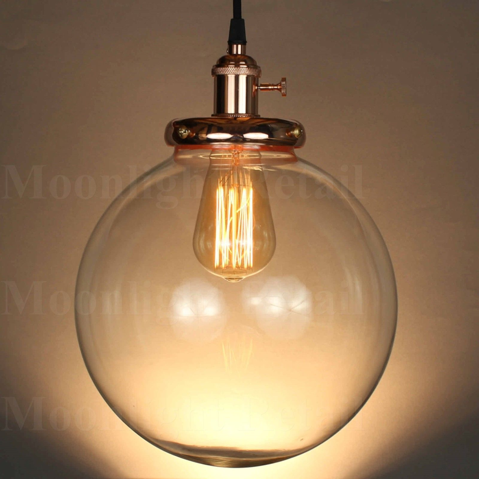 Modern Vintage Lights New Modern Vintage Industrial Retro Loft Ball Glass Shade