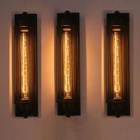 NEW Industrial Long Wall Lamp Retro Wall Light Rustic Wall ...