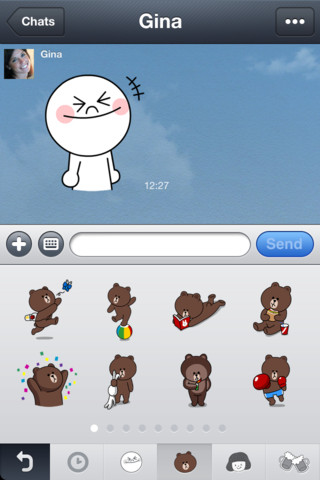 Line app下載點 for Android / iPhone 可愛好用的免費簡訊軟體