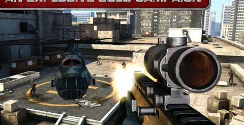 [iPad/iPhone]Modern Combat 3: Fallen Nation 現代戰爭3 - 墮落國度 特價$0.99