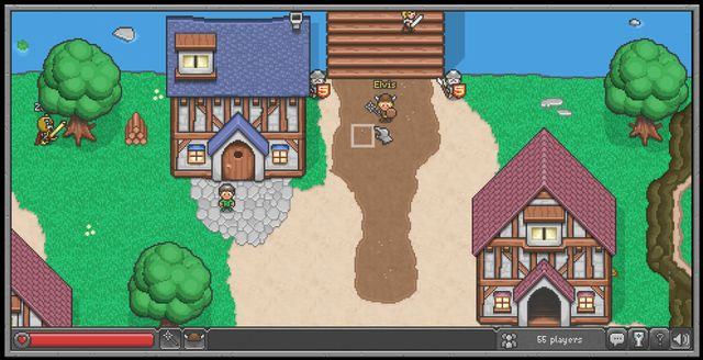 Browser Quest – Mozilla 用HTML5所製作的RPG遊戲