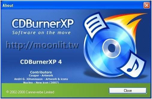 燒錄軟體免費下載 CDBurnerXP