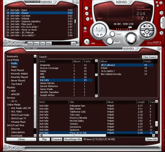 Winamp繁體中文版下載 老牌音樂播放器