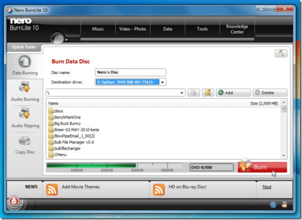 Nero 燒錄軟體中文版 免費下載 Nero BurnLite