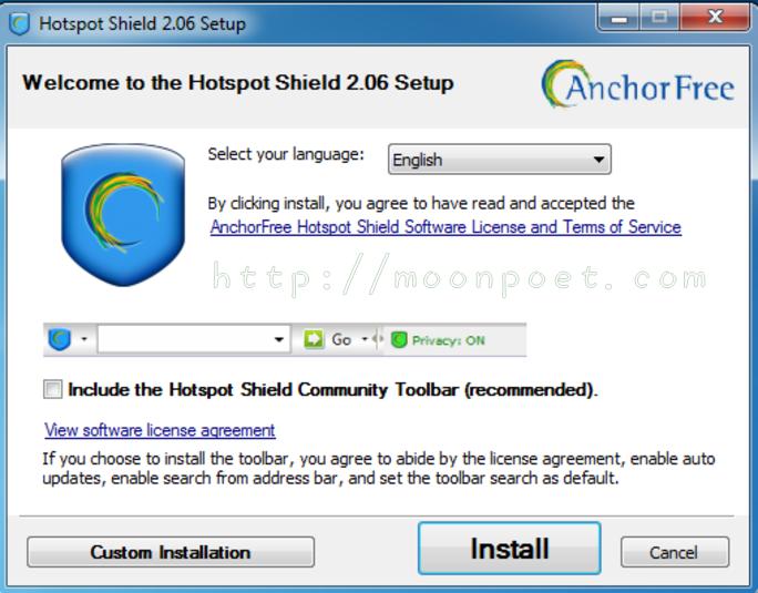 網路翻牆工具 hotspot shield 最新版本下載