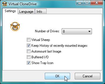 虛擬光碟機下載 Virtual CloneDrive