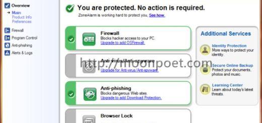免費木馬防護軟體 ZoneAlarm Free Firewall
